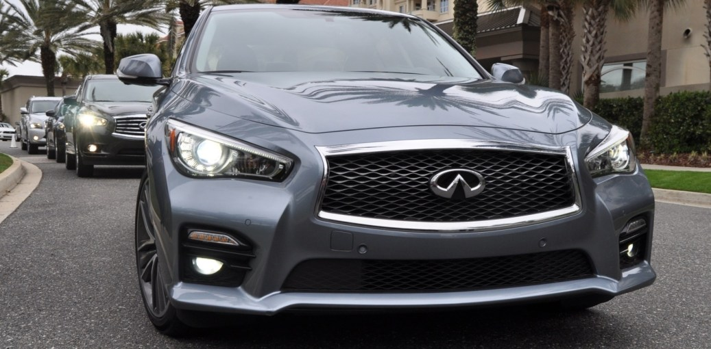 2014 INFINITI Q50S AWD Hybrid -- 1080p HD Road Test Videos & 50 Photos -- AAA+ Refinement and Truly Authentic Steering -- An Excellent BMW 535i Competitor 38