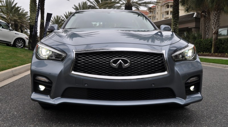 2014 INFINITI Q50S AWD Hybrid -- 1080p HD Road Test Videos & 50 Photos -- AAA+ Refinement and Truly Authentic Steering -- An Excellent BMW 535i Competitor 40