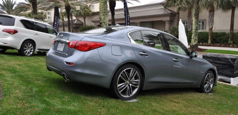 2014 INFINITI Q50S AWD Hybrid -- 1080p HD Road Test Videos & 50 Photos -- AAA+ Refinement and Truly Authentic Steering -- An Excellent BMW 535i Competitor 6