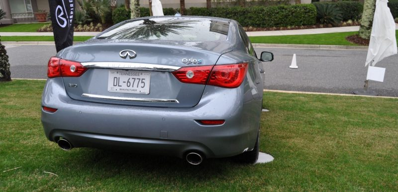 2014 INFINITI Q50S AWD Hybrid -- 1080p HD Road Test Videos & 50 Photos -- AAA+ Refinement and Truly Authentic Steering -- An Excellent BMW 535i Competitor 8