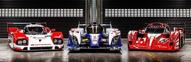 2014 LeMans LMP1 -- Toyota TS040 Hybrid -- A Dark Stallion in Audi vs. Porsche Battle -- Plus TS010 and TS020 Reunion 22