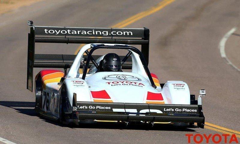 2014 LeMans LMP1 -- Toyota TS040 Hybrid -- A Dark Stallion in Audi vs. Porsche Battle -- Plus TS010 and TS020 Reunion 26