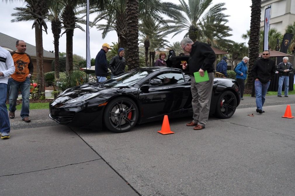 2014 McLaren 12C Spider Is Mobbed in Amelia Island! Failed Drop-top Animations 24