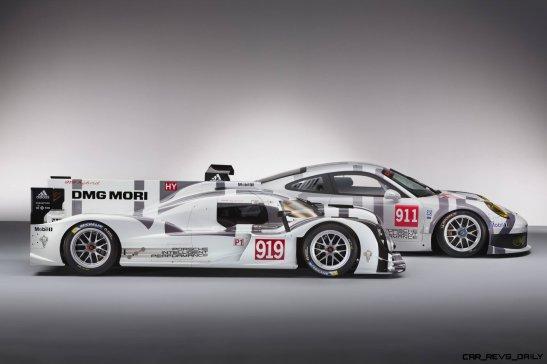 2014 Porsche Motorsport Worldwide- 919 Hybrid-911 RSR- Full Profiles