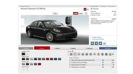 2014 Porsche Panamera S E-Hybrid -- 30 Real-Life Photos -- Live Configurator Link + 80 Images of Options, All Colors and All Wheels 2