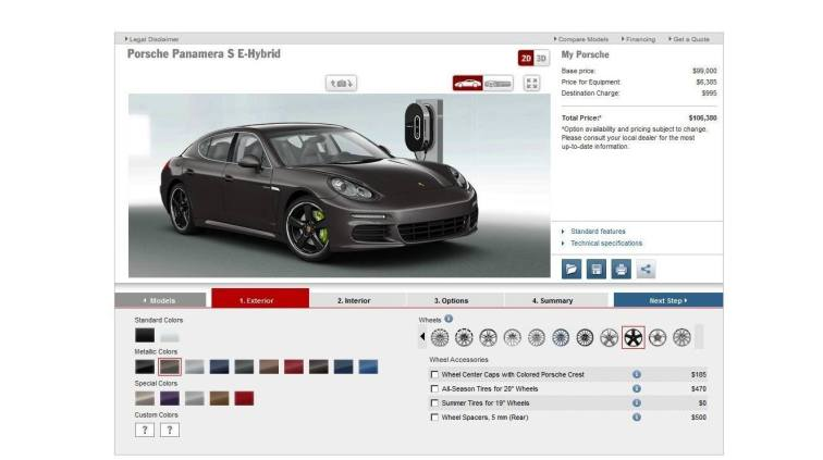 2014 Porsche Panamera S E-Hybrid -- 30 Real-Life Photos -- Live Configurator Link + 80 Images of Options, All Colors and All Wheels 22
