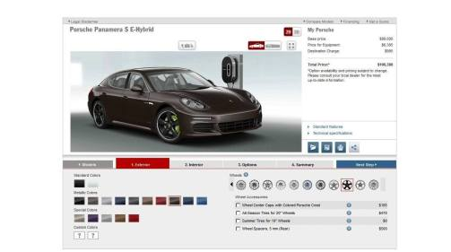 2014 Porsche Panamera S E-Hybrid -- 30 Real-Life Photos -- Live Configurator Link + 80 Images of Options, All Colors and All Wheels 28