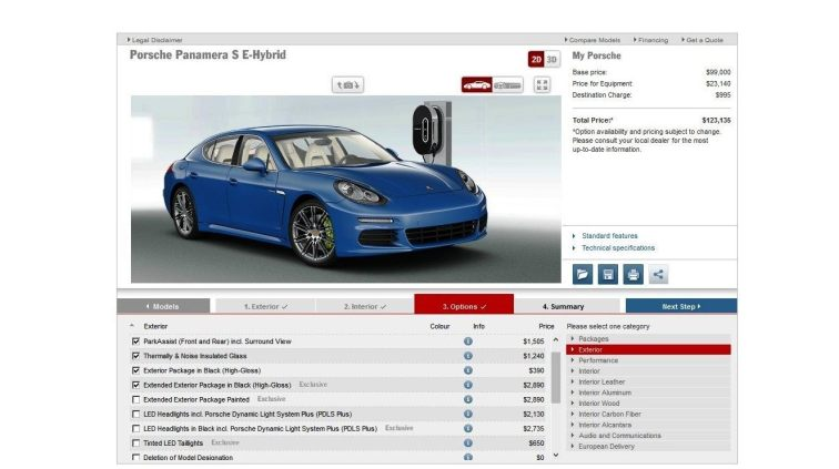 2014 Porsche Panamera S E-Hybrid -- 30 Real-Life Photos -- Live Configurator Link + 80 Images of Options, All Colors and All Wheels 60