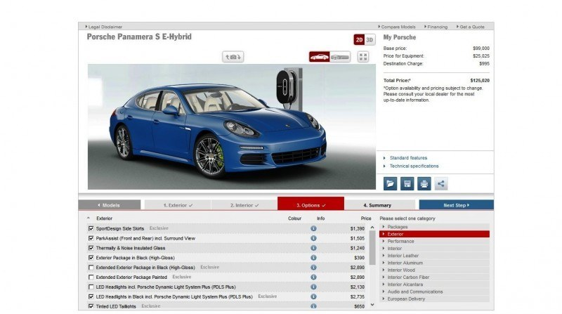 2014 Porsche Panamera S E-Hybrid -- 30 Real-Life Photos -- Live Configurator Link + 80 Images of Options, All Colors and All Wheels 63