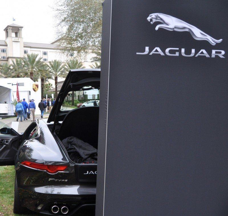 2015 JAGUAR F-TYPE R Coupe -- Lifts Its Bonnet to Show 550HP 5.0-liter V8 6