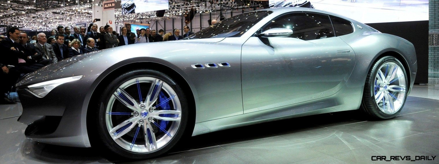 Alfieri Maserati Concept -- Analytical Assessment of the Trident's Flagship Prototype -- 52 Photos, Sketches, Reveal Images 11