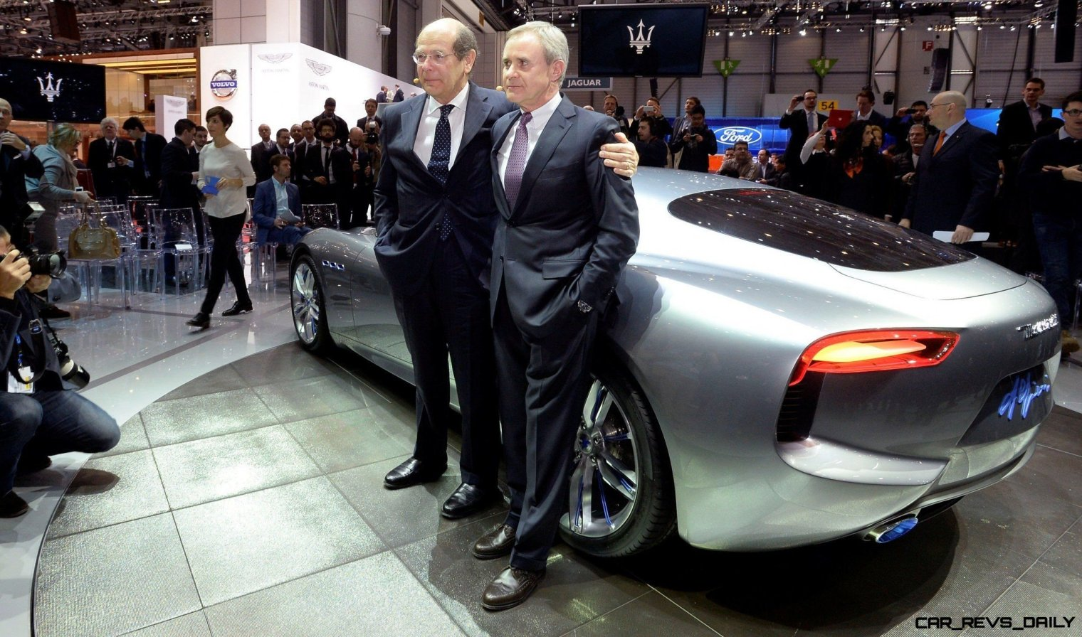 Alfieri Maserati Concept -- Analytical Assessment of the Trident's Flagship Prototype -- 52 Photos, Sketches, Reveal Images 2