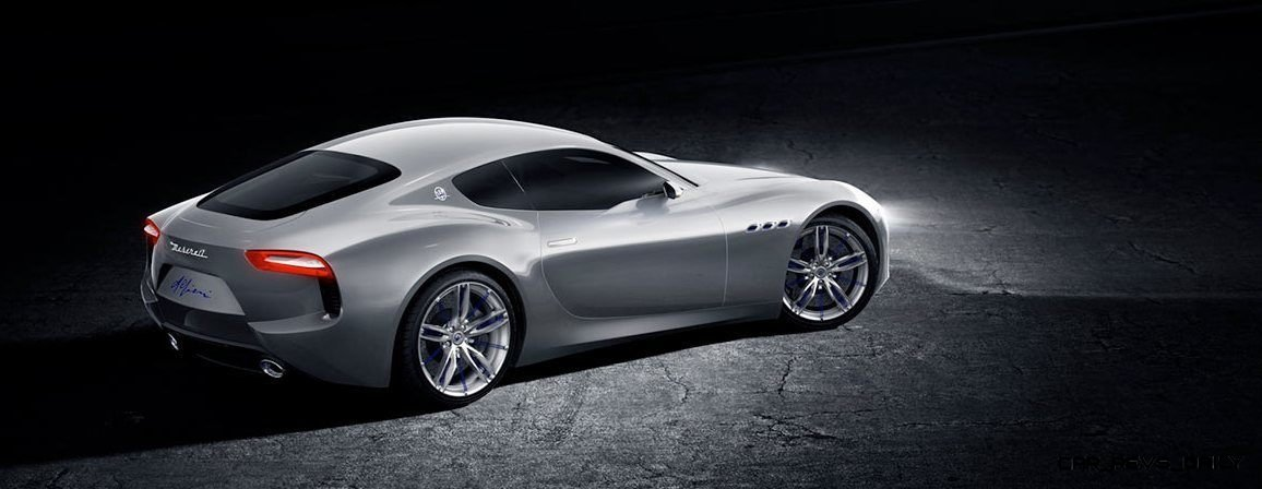 Alfieri Maserati Concept -- Analytical Assessment of the Trident's Flagship Prototype -- 52 Photos, Sketches, Reveal Images 23
