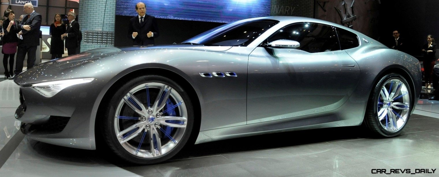 Alfieri Maserati Concept -- Analytical Assessment of the Trident's Flagship Prototype -- 52 Photos, Sketches, Reveal Images 7