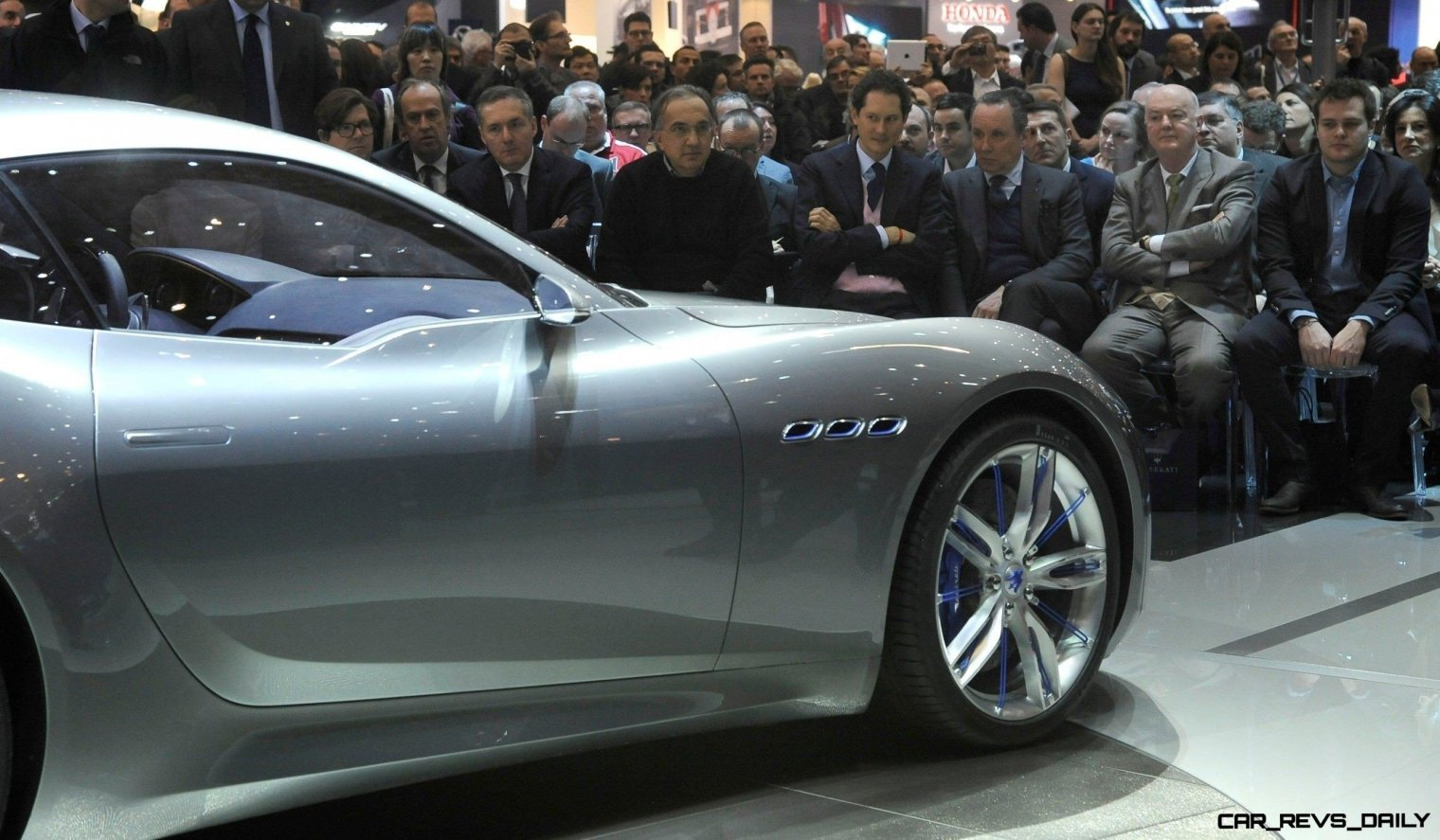Alfieri Maserati Concept -- Analytical Assessment of the Trident's Flagship Prototype -- 52 Photos, Sketches, Reveal Images 8