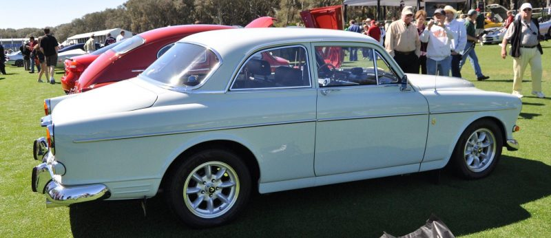 Amelia Island 2014 -- Marque Highlights -- VOLVO PV444 and 122S Amazon Coupe -- Pre-Dating BMW 3 series Ancestors 14