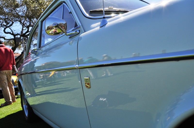 Amelia Island 2014 -- Marque Highlights -- VOLVO PV444 and 122S Amazon Coupe -- Pre-Dating BMW 3 series Ancestors 16