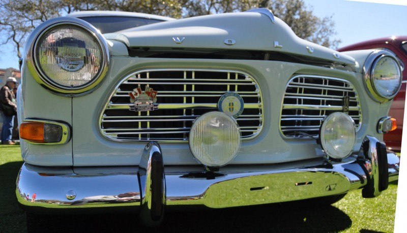 Amelia Island 2014 -- Marque Highlights -- VOLVO PV444 and 122S Amazon Coupe -- Pre-Dating BMW 3 series Ancestors 17