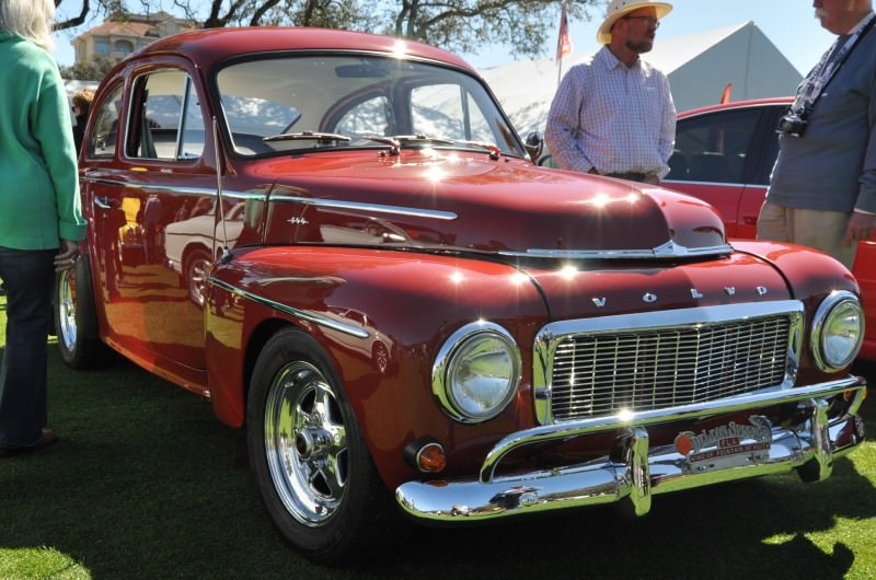 Amelia Island 2014 -- Marque Highlights -- VOLVO PV444 and 122S Amazon Coupe -- Pre-Dating BMW 3 series Ancestors 21