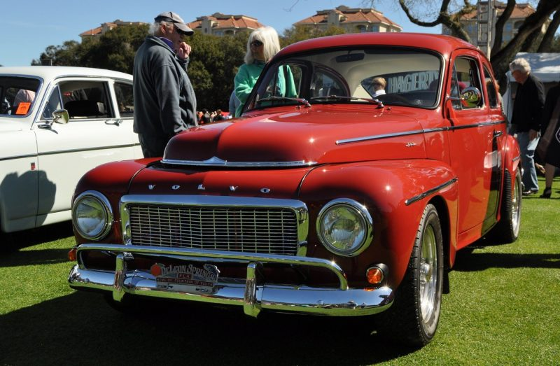 Amelia Island 2014 -- Marque Highlights -- VOLVO PV444 and 122S Amazon Coupe -- Pre-Dating BMW 3 series Ancestors 24