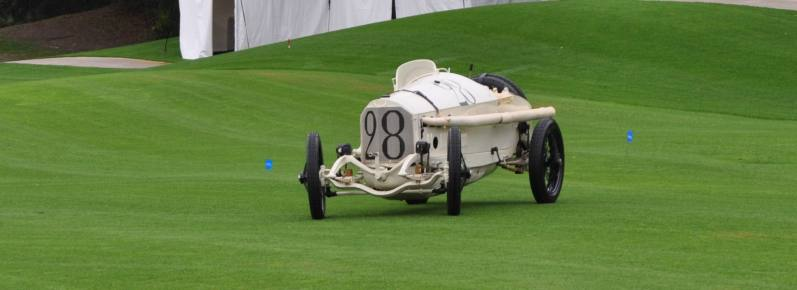 Amelia Island Time Capsules -- 1914 Mercedes-Benz GP Car in 25 Original, High-Res Photos 1