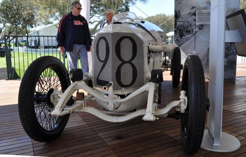 Amelia Island Time Capsules -- 1914 Mercedes-Benz GP Car in 25 Original, High-Res Photos 22