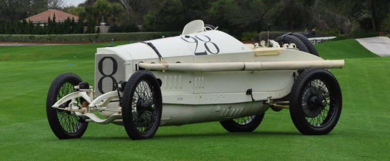 Amelia Island Time Capsules -- 1914 Mercedes-Benz GP Car in 25 Original, High-Res Photos 6