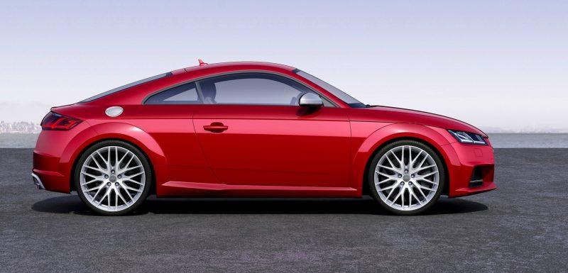 Audi TT is Fighting Fit for 2015 -- Ultra-Simple, High-Tech Interior + TT SQC Promises 3.6s 60-mph Sprint 2