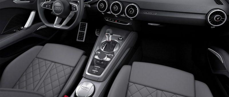 Audi TT is Fighting Fit for 2015 -- Ultra-Simple, High-Tech Interior + TT SQC Promises 3.6s 60-mph Sprint 6