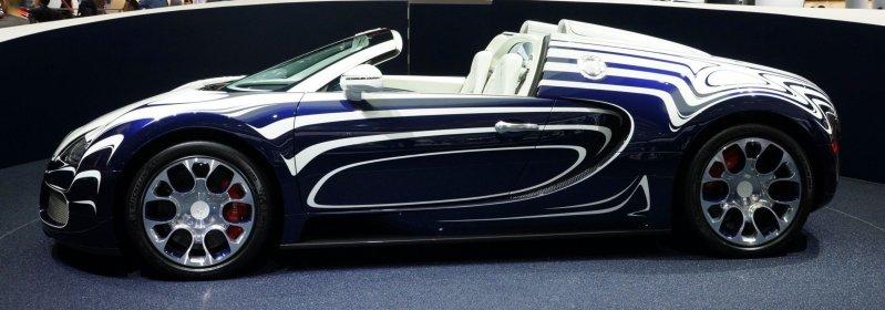 BUGATTI Marque Showcase -- Geneva, Salon Prive and Pebble Beach -- Veyron Vitesse and GS Rembrandt -- Plus Venet, Jean Bugatti, L'Or Blanc and GS Vitesse 32