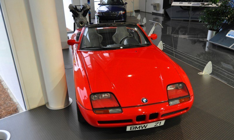 Car Museums Showcase -- 1989 BMW Z1 at Zentrum in Spartanburg, SC -- High Demand + High Price Led Directly to US-Built Z3 14