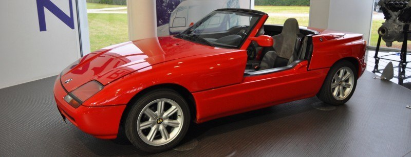 Car Museums Showcase -- 1989 BMW Z1 at Zentrum in Spartanburg, SC -- High Demand + High Price Led Directly to US-Built Z3 6