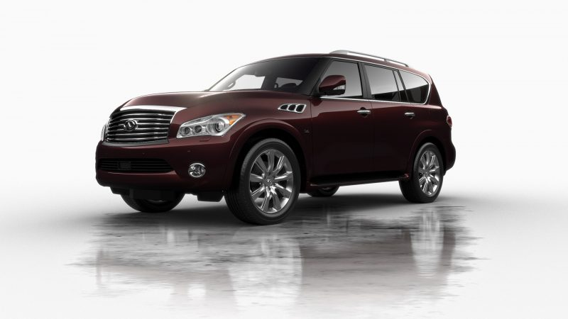 Car-Revs-Daily.com -- 2014 INFINITI QX80 Buyers Guide, Pricing, Colors and Specs 34