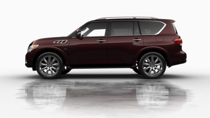 Car-Revs-Daily.com -- 2014 INFINITI QX80 Buyers Guide, Pricing, Colors and Specs 36
