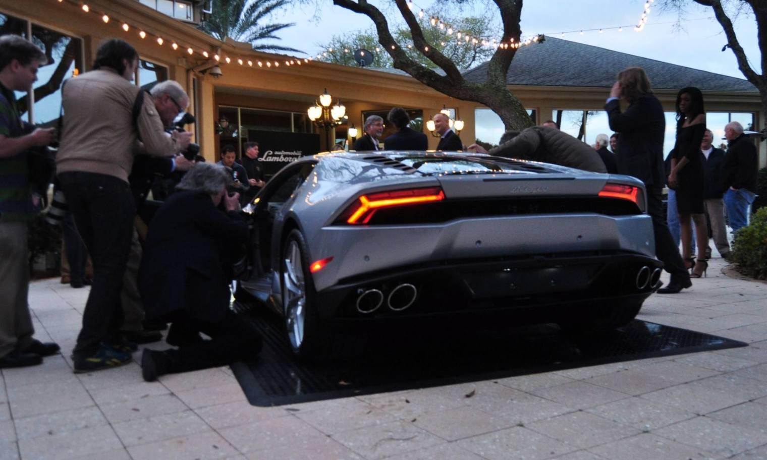 Car-Revs-Daily.com -- 2015 Lamborghini Huracan -- Official American Debut  31