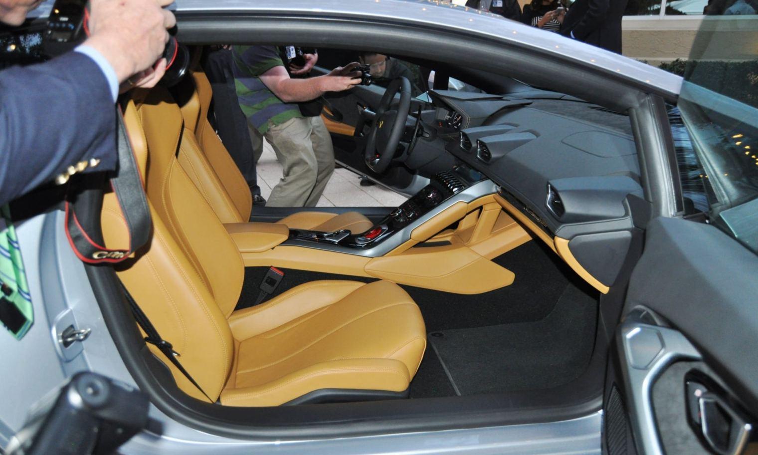 Car-Revs-Daily.com -- 2015 Lamborghini Huracan -- Official American Debut  33