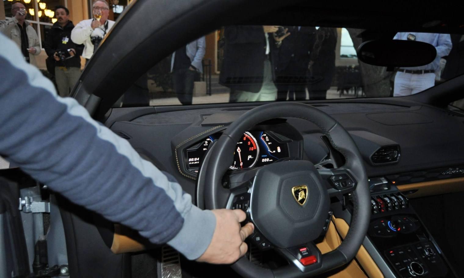 Car-Revs-Daily.com -- 2015 Lamborghini Huracan -- Official American Debut  44