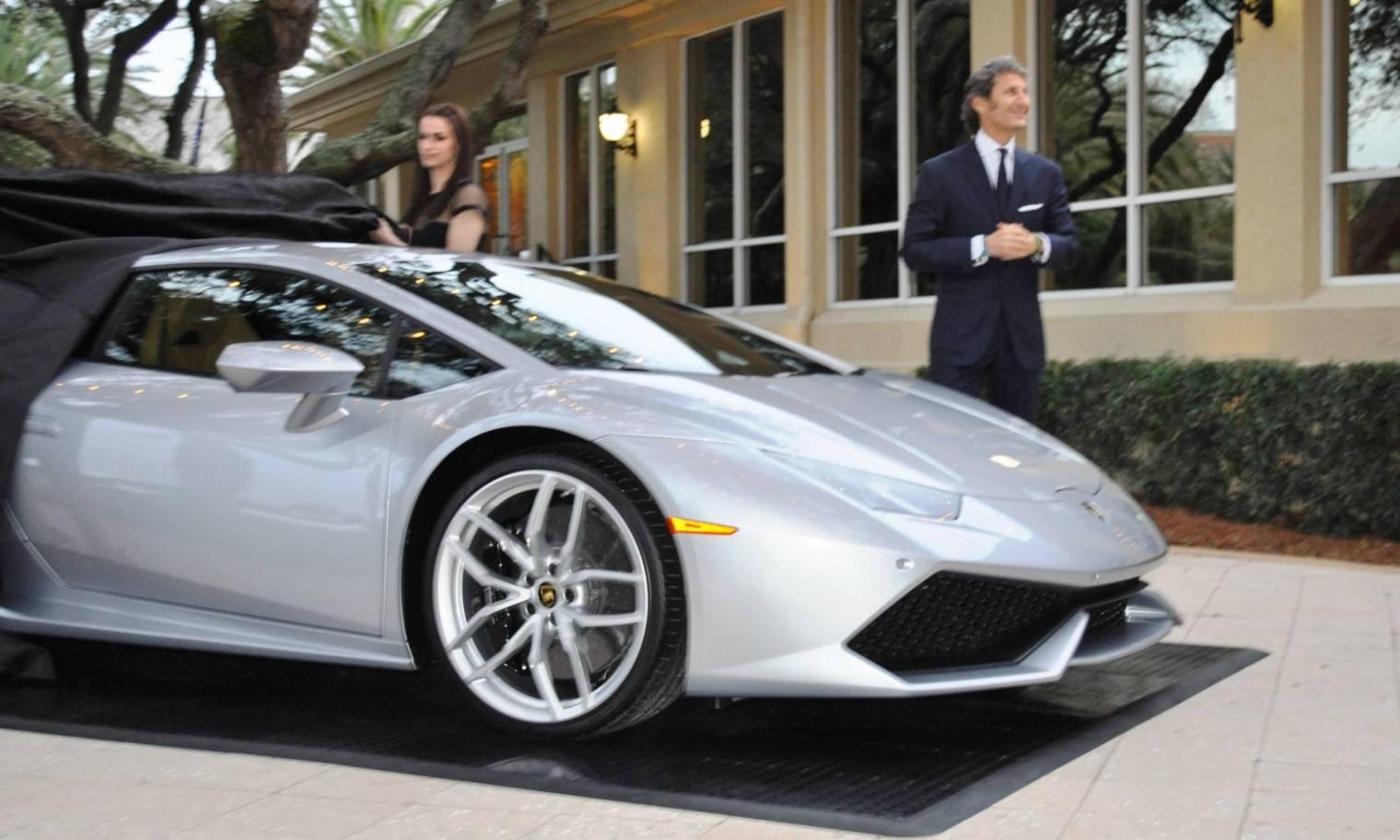 Car-Revs-Daily.com -- 2015 Lamborghini Huracan -- Official American Debut  6