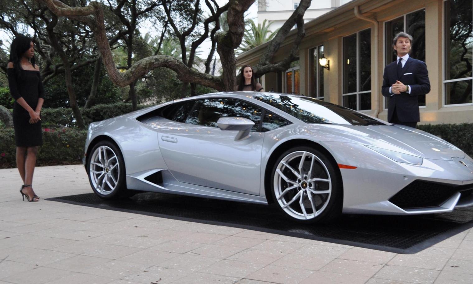 Car-Revs-Daily.com -- 2015 Lamborghini Huracan -- Official American Debut  7