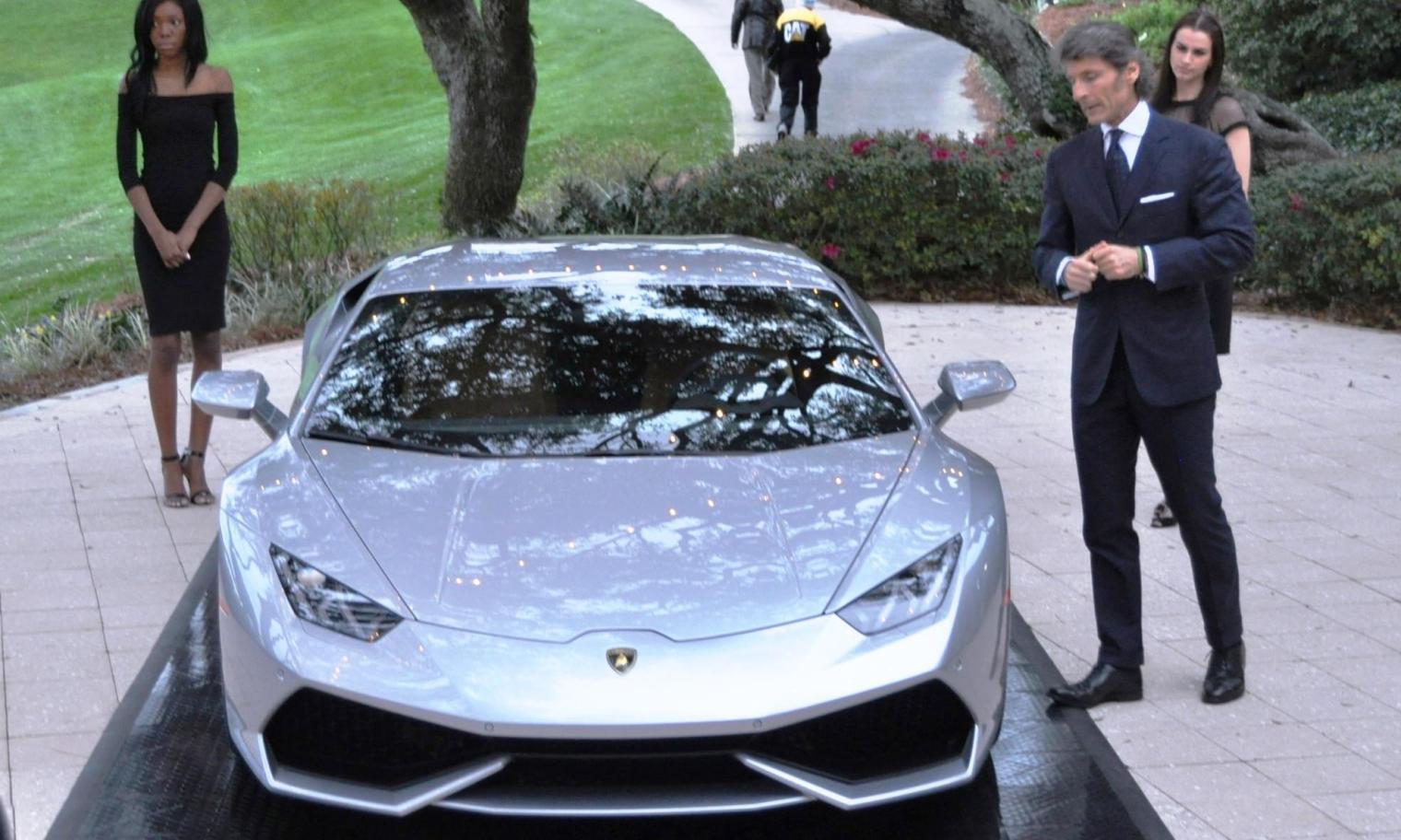 Car-Revs-Daily.com -- 2015 Lamborghini Huracan -- Official American Debut  9