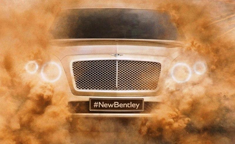 Car-Revs-Daily.com -- #NewBentley SUV First Official Image Plus the EXP 9F Falcon Concept 1