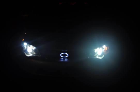 DIY LED lights and LED subaru badge emblem_7695827852_l