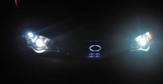 DIY LED lights and LED subaru badge emblem_7695851712_l