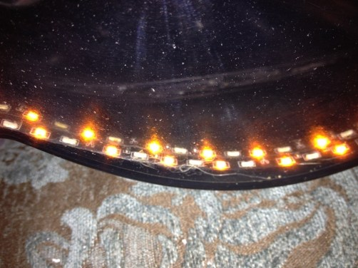 DIY headlights project - tried out a double layer of_8007330639_l