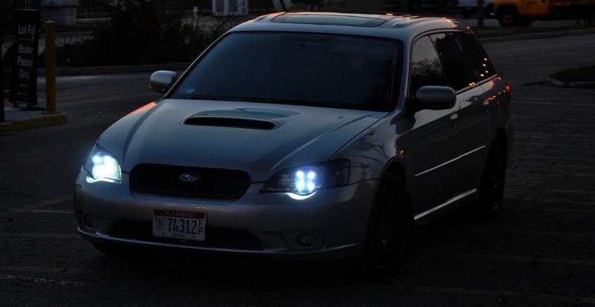 DRL - Subaru Legacy GT DIY LED Headlights v80 -_8193685799_l