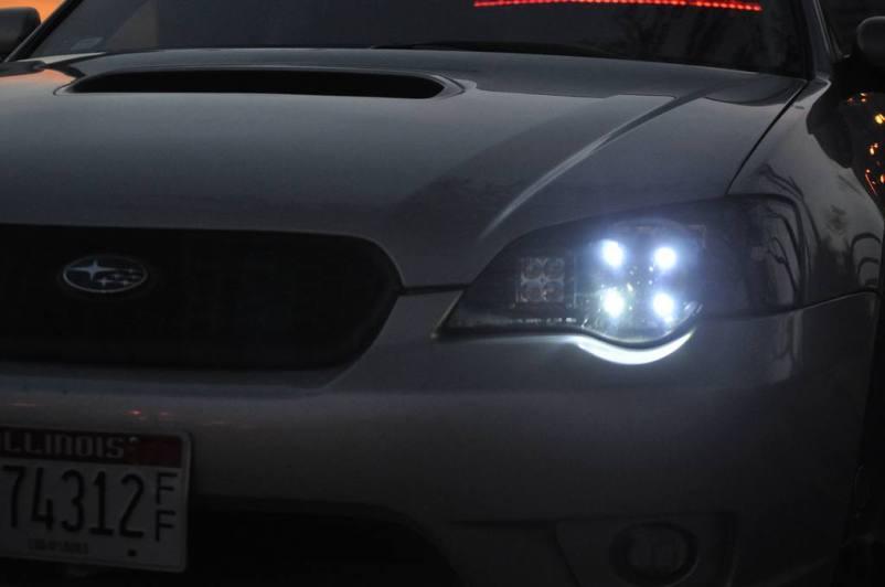 DRL - Subaru Legacy GT DIY LED Headlights v80 -_8193695673_l