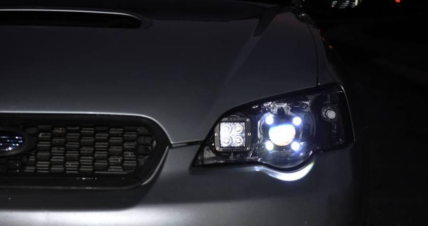 DRL - Subaru Legacy GT DIY LED Headlights v80 -_8194780232_l
