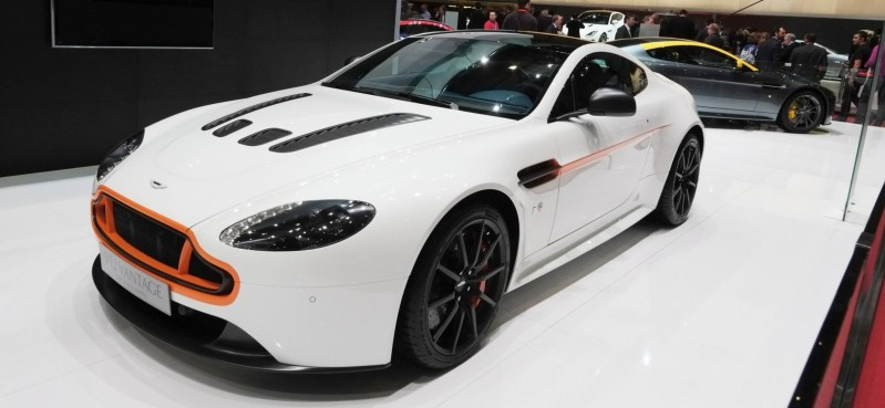 Geneva 2014 ShowFloor Gallery -- Aston Martin Rapide S and Vantage S V12 Wearing N420-Inspired Livery 13