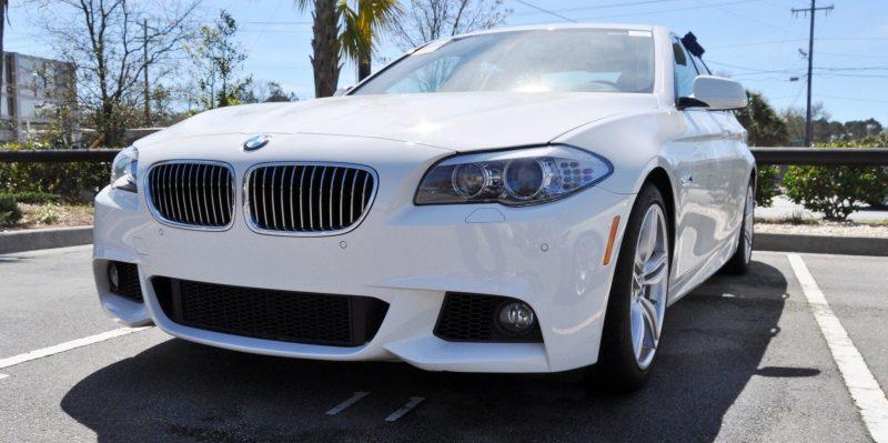 HD Video Road Test -- 2013 BMW 535i M Sport RWD -- Refined but Still Balanced, FAST and Posh 12