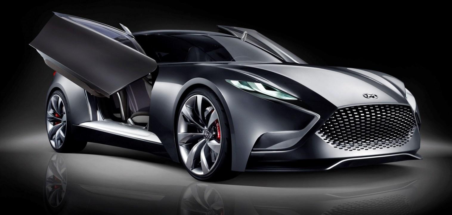 HYUNDAI Coupe Designs i-ONIQ and HND-9 10